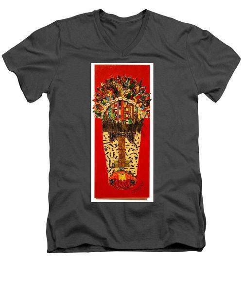 Shaka Zulu Men's V-Neck T-Shirt