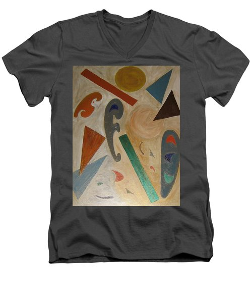 Shapes Men's V-Neck T-Shirt
