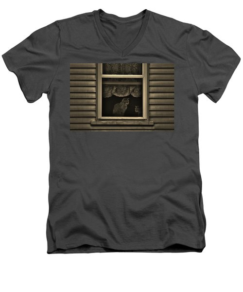 Shared Silence Men's V-Neck T-Shirt