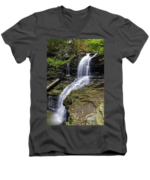 Shawnee Falls Men's V-Neck T-Shirt