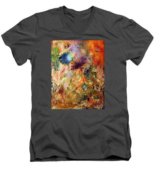 Shedding Light On The Past Men's V-Neck T-Shirt