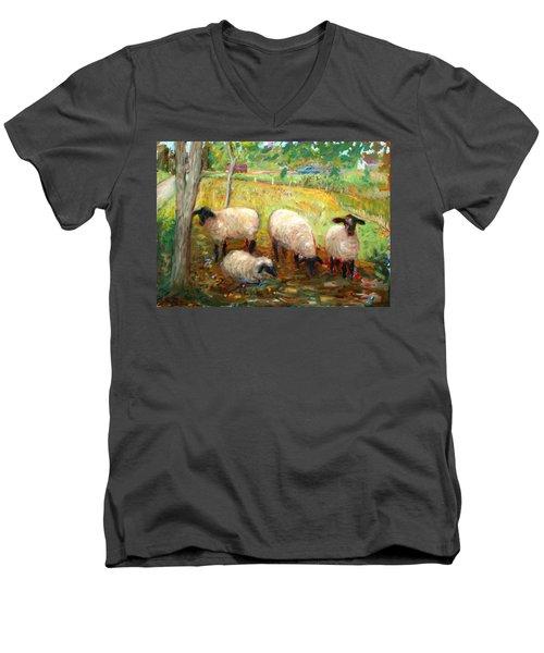 Sheep Men's V-Neck T-Shirt