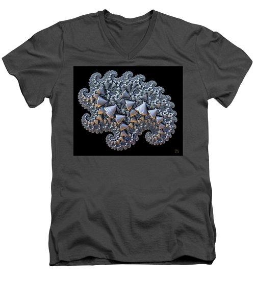Shell Amoeba Men's V-Neck T-Shirt