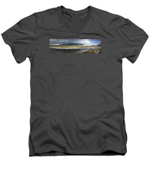 Shell Island Squall Men's V-Neck T-Shirt