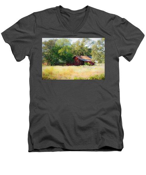 Sheltered Men's V-Neck T-Shirt