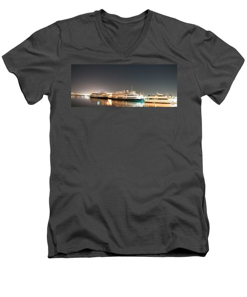 Ship Men's V-Neck T-Shirt