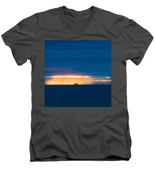 Ship On The Horizon Men's V-Neck T-Shirt