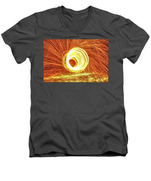 Shooting Sparks Men's V-Neck T-Shirt