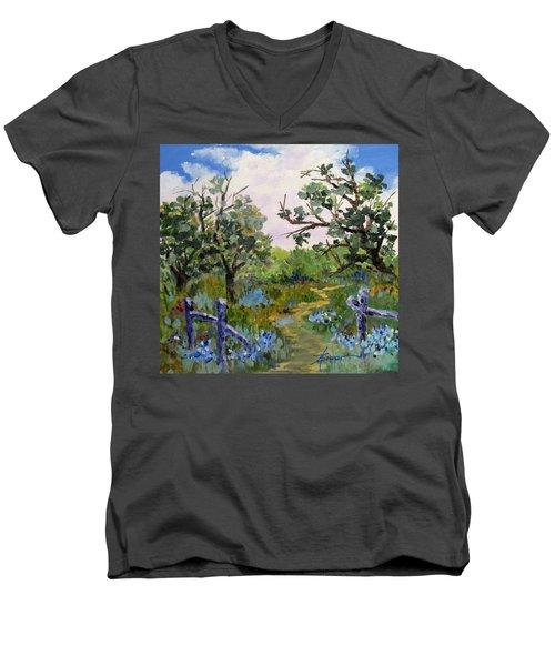 Shortcut Men's V-Neck T-Shirt