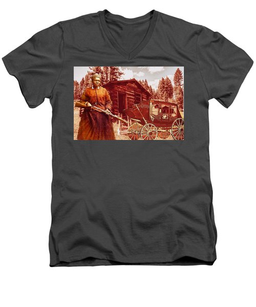Shotgun Mary Men's V-Neck T-Shirt