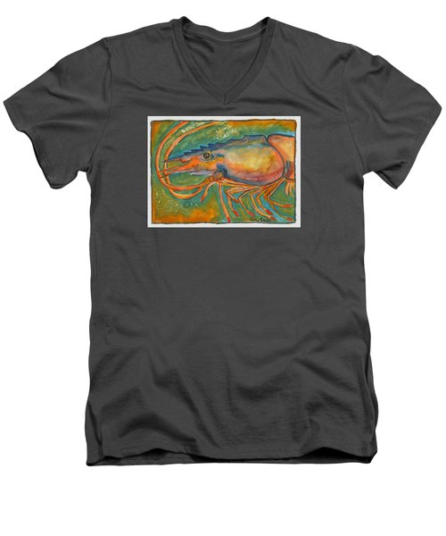 Shrimp Head Men's V-Neck T-Shirt