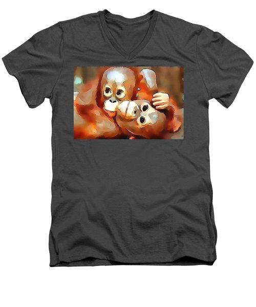 Siblings Men's V-Neck T-Shirt