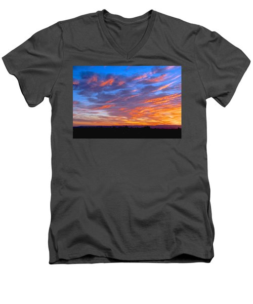 Sierra Nevada Sunrise Men's V-Neck T-Shirt