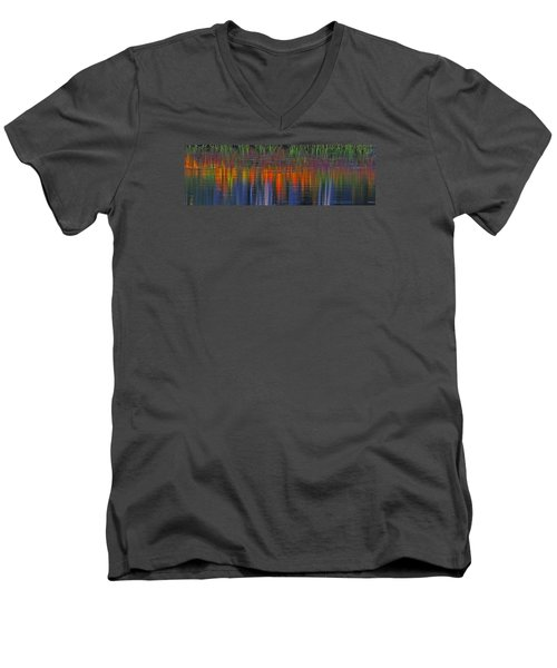 Sierra Serenity  Men's V-Neck T-Shirt by Duncan Selby