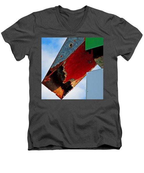 Sign Of The Times Men's V-Neck T-Shirt