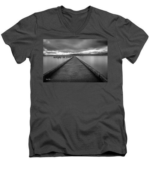 Silent Dock Men's V-Neck T-Shirt