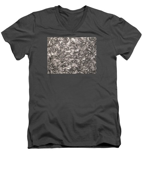 Silver Streak Men's V-Neck T-Shirt