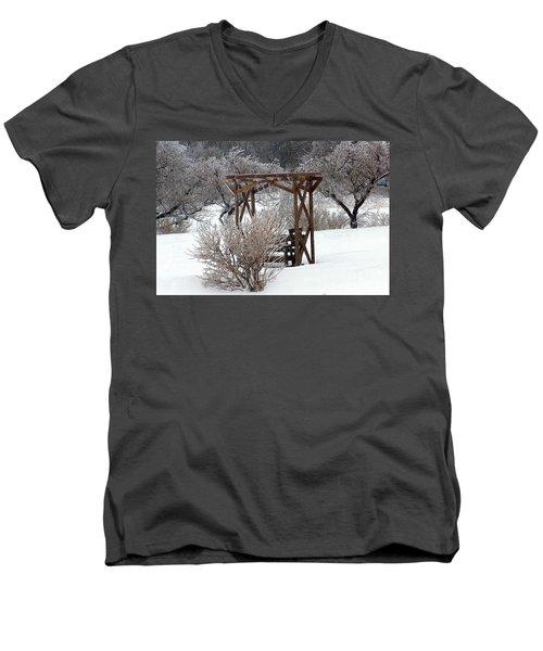 Silver Thaw Men's V-Neck T-Shirt