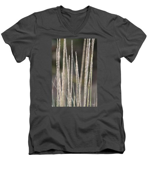 Men's V-Neck T-Shirt featuring the photograph Simply Pure by Amy Gallagher
