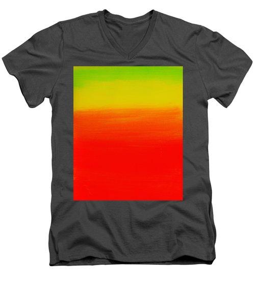 Simply Rasta Men's V-Neck T-Shirt