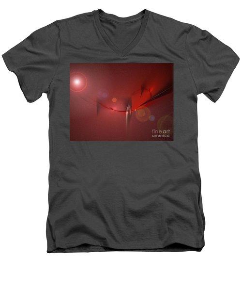 Simply Red Men's V-Neck T-Shirt