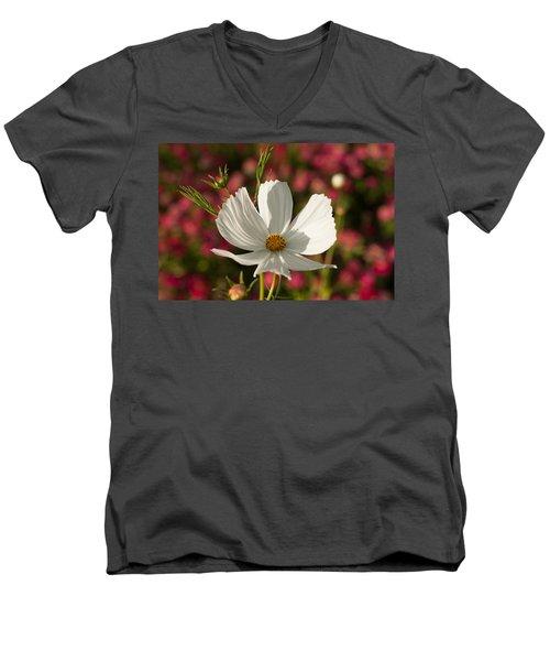 Single Men's V-Neck T-Shirt