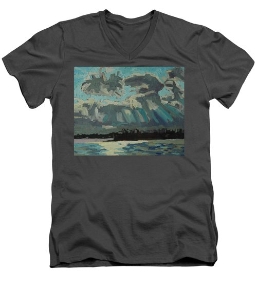 Singleton Cold Front Men's V-Neck T-Shirt