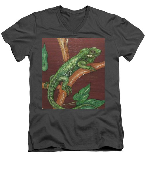 Sir Iguana Men's V-Neck T-Shirt