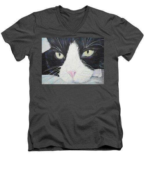 Sissi The Cat 2 Men's V-Neck T-Shirt