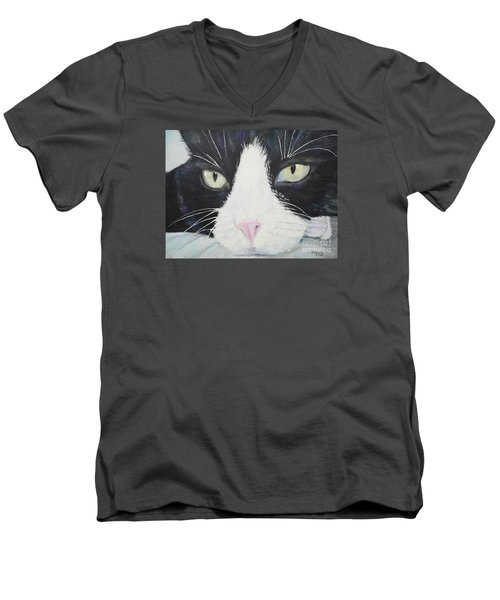 Sissi The Cat 2 Men's V-Neck T-Shirt