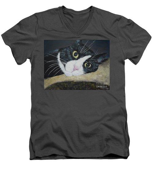Sissi The Cat 3 Men's V-Neck T-Shirt