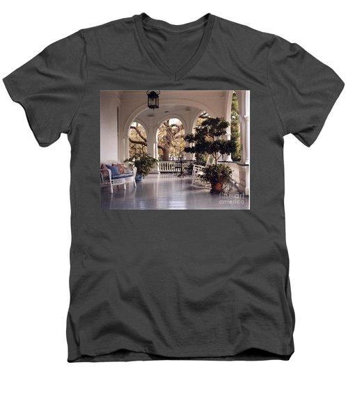 Sit-a-spell Men's V-Neck T-Shirt