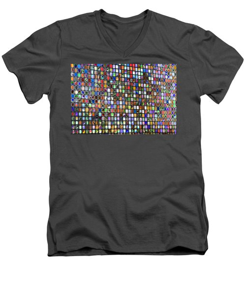 Six Hundred Rectangles Men's V-Neck T-Shirt