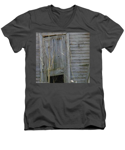 Men's V-Neck T-Shirt featuring the photograph Skewed by Nick Kirby