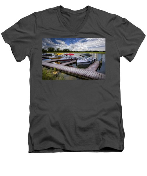 Ski Nautique Men's V-Neck T-Shirt