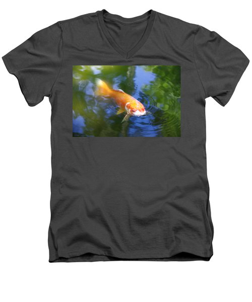 Skimming The Surface Men's V-Neck T-Shirt