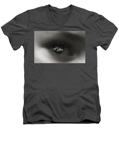 Sky Eye Men's V-Neck T-Shirt