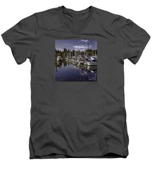 Sky Reach Men's V-Neck T-Shirt