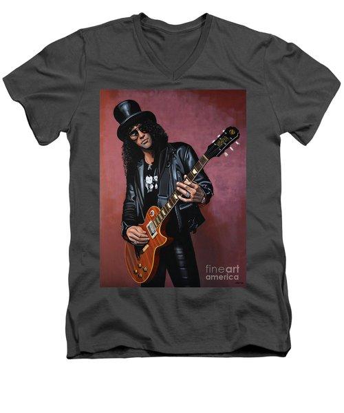 Slash Men's V-Neck T-Shirt