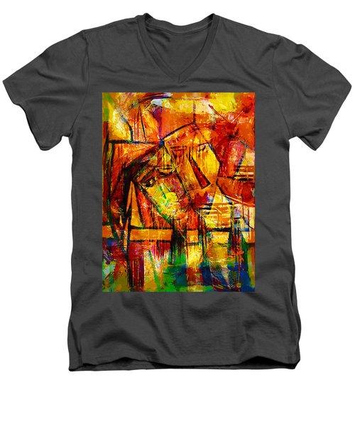 Sleepy - Marucii Men's V-Neck T-Shirt