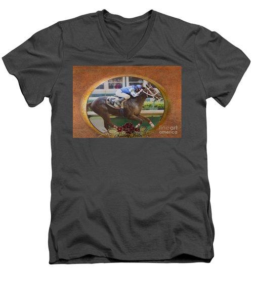 Smarty Jones Men's V-Neck T-Shirt