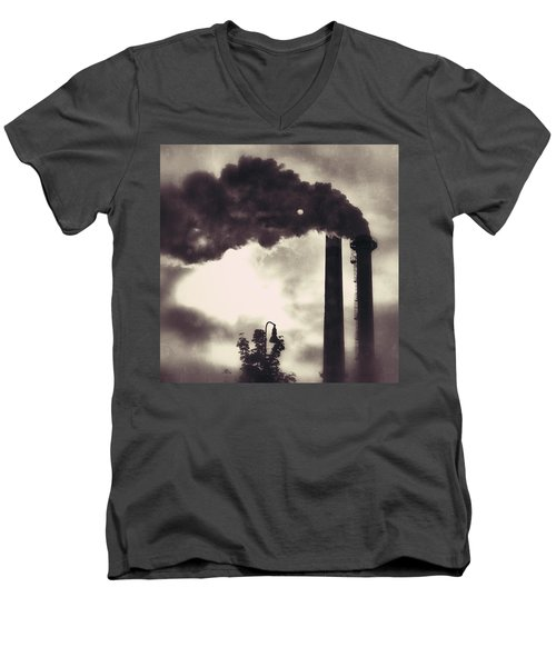 Smoke Stack Men's V-Neck T-Shirt
