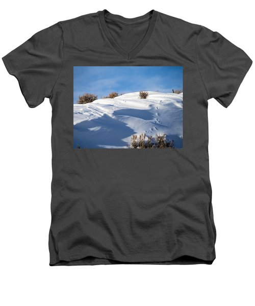 Snowdrifts Men's V-Neck T-Shirt