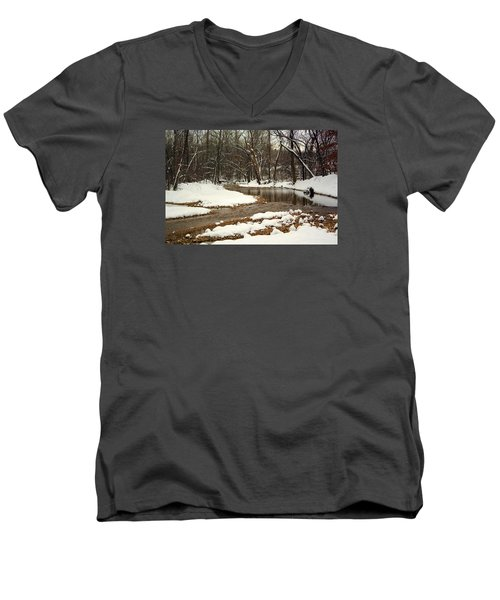 Snowy Creek Men's V-Neck T-Shirt