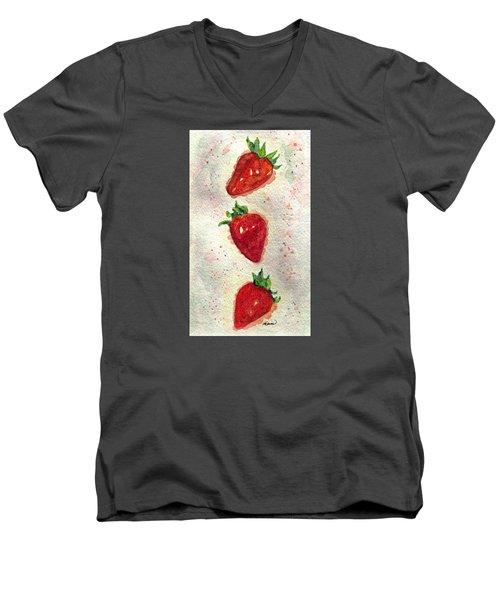 So Juicy Men's V-Neck T-Shirt by Angela Davies