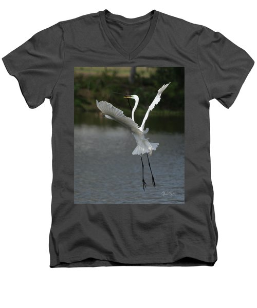 So You Think You Can Dance Men's V-Neck T-Shirt by Susan Molnar