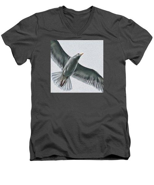 Soaring High Men's V-Neck T-Shirt