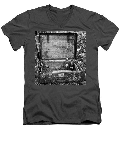 Sober Travels  Men's V-Neck T-Shirt