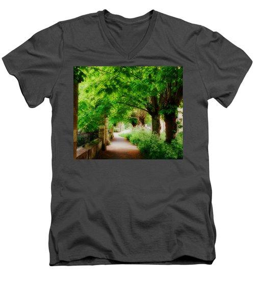Softly Dreaming Men's V-Neck T-Shirt