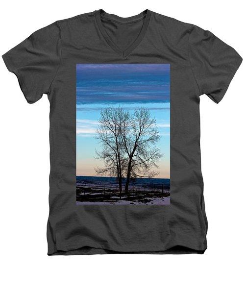 Soldier Creek Sunset Men's V-Neck T-Shirt